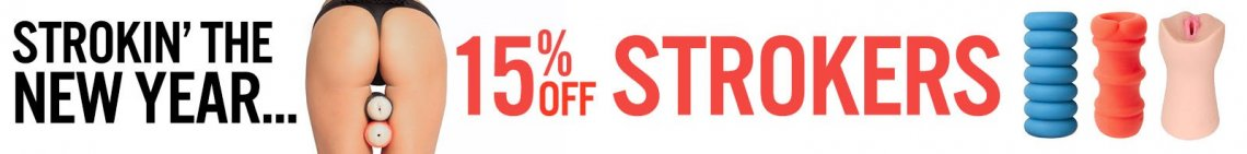 Save 15% off strokers now image