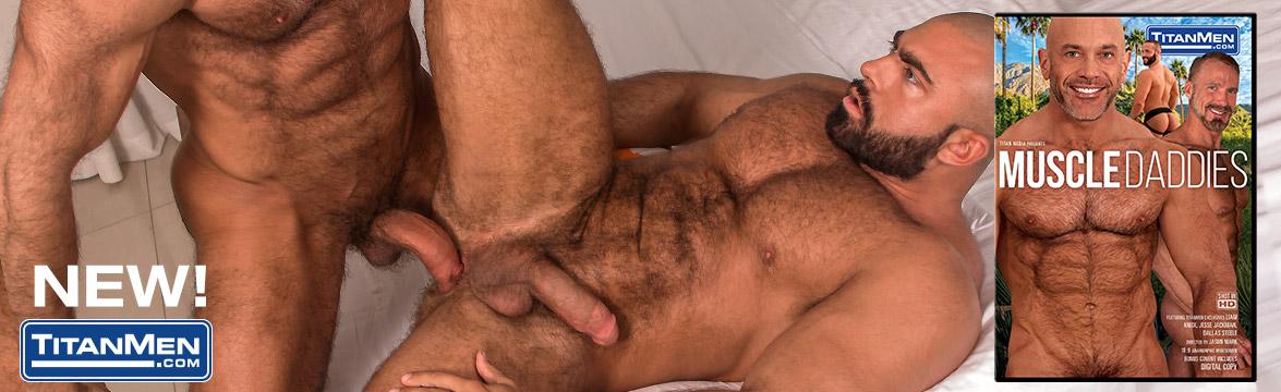 Muscle Daddies DVD image.
