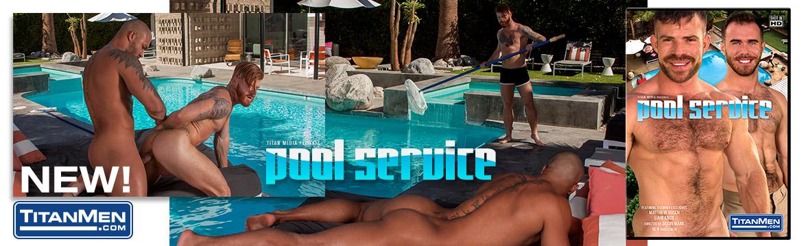 Pool Service DVD image.