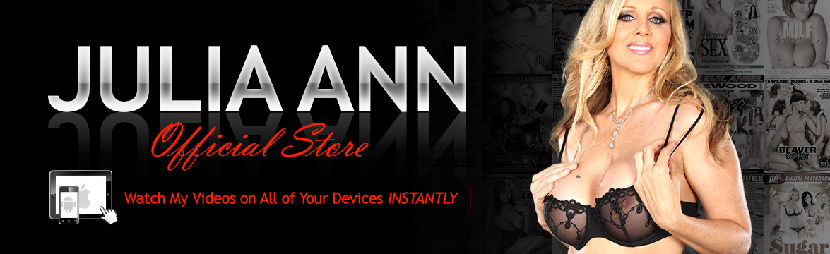 Welcome to the Julia Ann Video on Demand theatre and store.