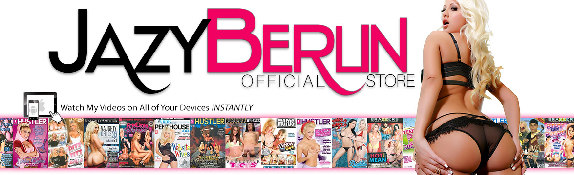 Welcome to the Jazy Berlin Store DVD, sextoy and Video on Demand theatre and store.