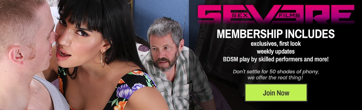 Welcome to the Severe Sex Films  DVD, sextoy and Video on Demand theatre and store.